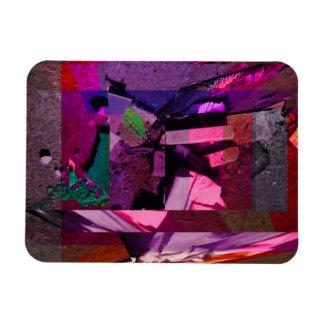 Chalk Floor Art Magnet