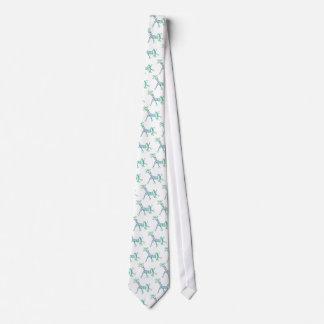 Chalk Giraffe in a Tutu Tie