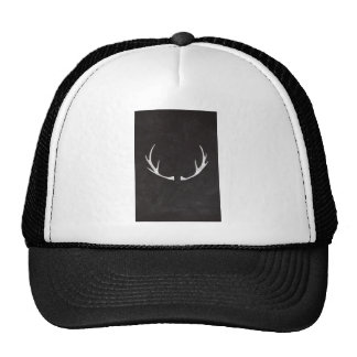 Chalkboard Art - Antlers for the Holidays Hat
