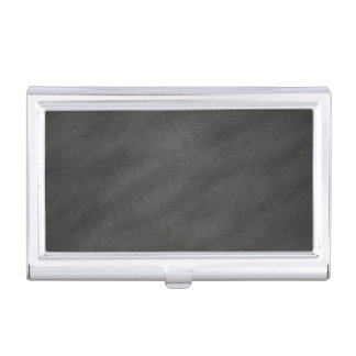 Chalkboard Background Gray Black Chalk Board Business Card Holder
