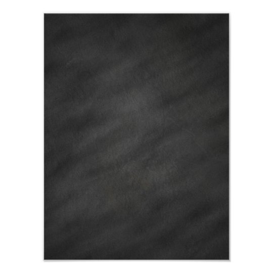 Chalkboard Background Grey Black Chalk Board Blank Poster