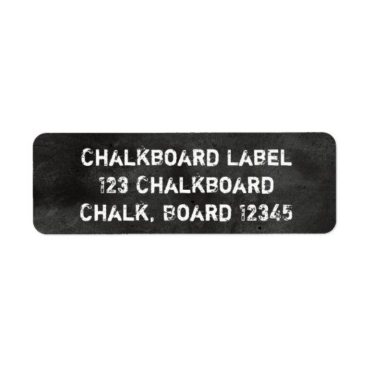 Chalkboard Blackboard Black & White Dusty