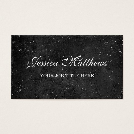 Chalkboard Business Card - Personalise