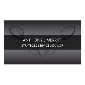 Chalkboard Calligraphy Design Business Card Pack Of Standard Business Cards