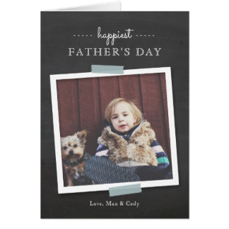Chalkboard Cheer Father's Day Card