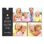Chalkboard Christmas | Holiday Photo Card 13 Cm X 18 Cm Invitation Card
