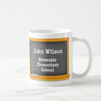 Chalkboard, Customize your text Coffee Mug