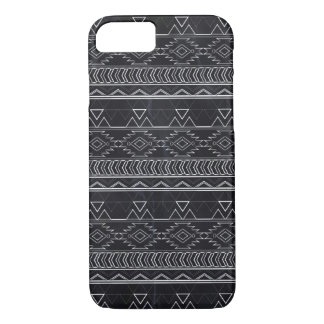 Chalkboard Effect Aztec Tribal Stripes iPhone 8/7 Case