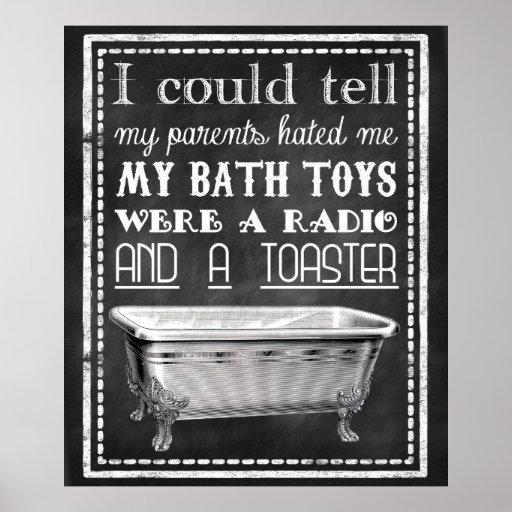Toilet Brush Instructions Poster Zazzle Co Uk