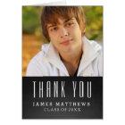 CHALKBOARD GRAD | GRADUATION THANK YOU CARD
