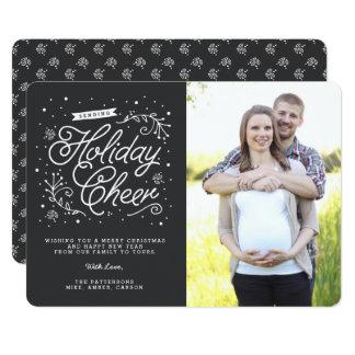 Chalkboard Holiday Cheer | Holiday Photo Card