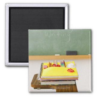 Chalkboard in classroom magnet
