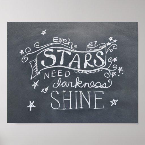Chalkboard Inspirational Poster