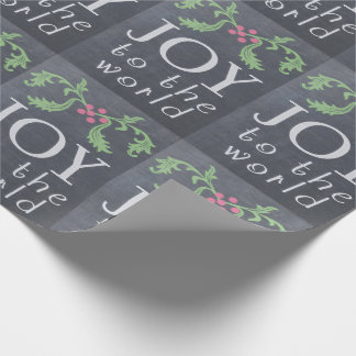 Chalkboard Look Christmas Gift Wrap Wrapping Paper
