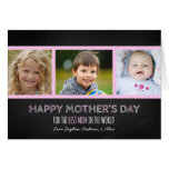 Chalkboard Photo Happy Mother's Day Card
