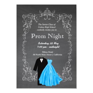 Chalkboard Prom Card