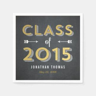 Chalkboard Shine Graduation Napkins Paper Serviettes