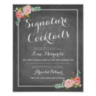 Chalkboard Signature Drink Menu | Wedding Decor