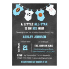 Chalkboard Sports Little ALL-STAR Baby Shower Card