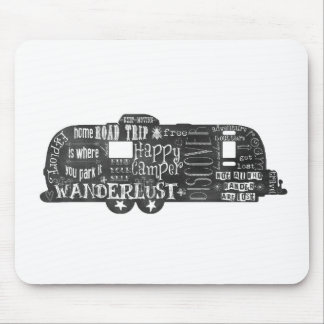 Chalkboard Trailer Mousepad