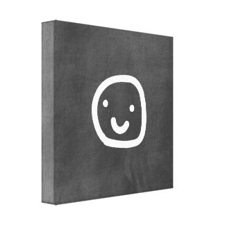 chalkboard wallies gallery wrapped canvas