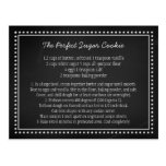 Chalkboard Wedding Recipe Favour Tag