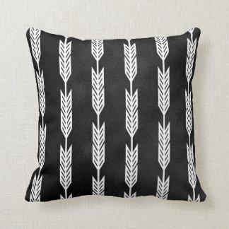Chalkboard White Arrow Designs Cushion
