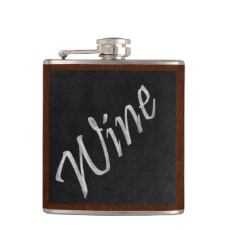 Chalkboard Wine Flask