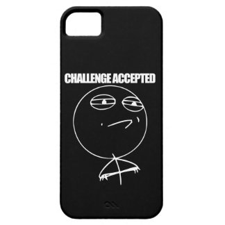 Challenge Accepted Barely There iPhone 5 Case