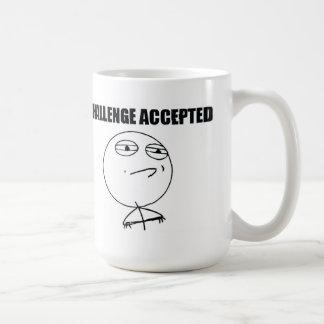 Challenge Accepted Basic White Mug