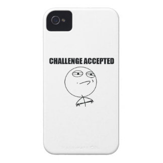Challenge Accepted Case-Mate iPhone 4 Cases