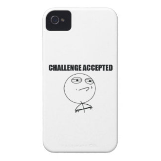 Challenge Accepted iPhone 4 Case-Mate Cases