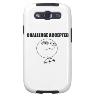 Challenge Accepted Galaxy SIII Case