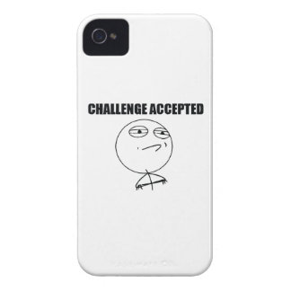 Challenge Accepted iPhone 4 Case