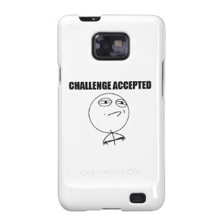Challenge Accepted Samsung Galaxy Cases
