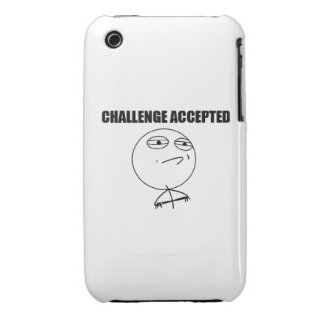 Challenge Accepted iPhone 3 Case-Mate Case