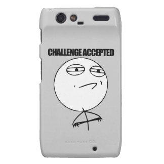 Challenge Accepted Droid RAZR Case