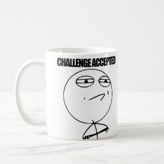 Challenge Accepted Coffee Mug