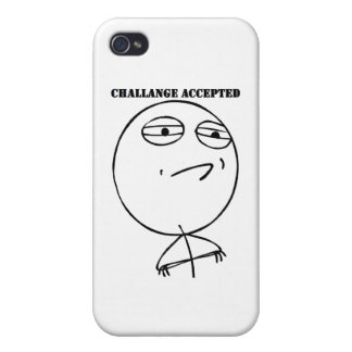 Challenge Accepted Gear iPhone 4/4S Case