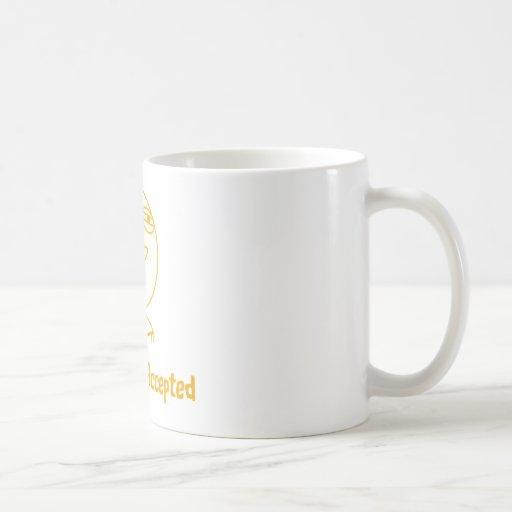 Challenge Accepted (In Orange!) Mug