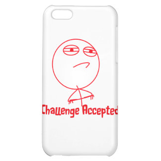 Challenge Accepted (In Red!) Case For iPhone 5C