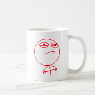 Challenge Accepted (In Red!) Coffee Mugs