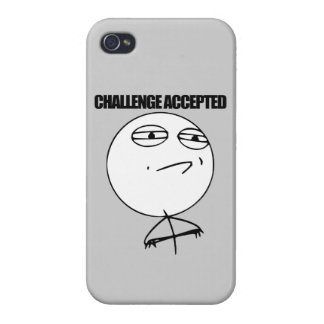 Challenge Accepted iPhone 4/4S Cover