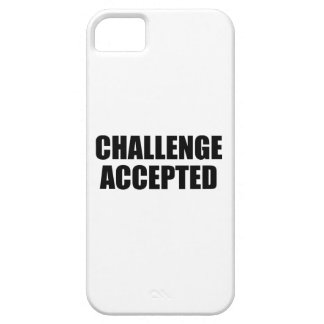 Challenge Accepted iPhone 5 Cover