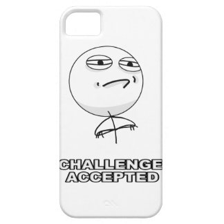 Challenge Accepted iPhone 5 Meme Case iPhone 5 Covers