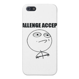 Challenge Accepted Case For iPhone 5