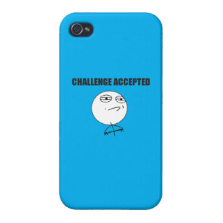 Challenge Accepted Cases For iPhone 4