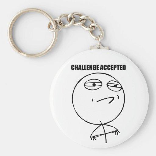 Challenge Accepted - Keychain