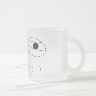 Challenge Accepted Mug! Frosted Glass Coffee Mug