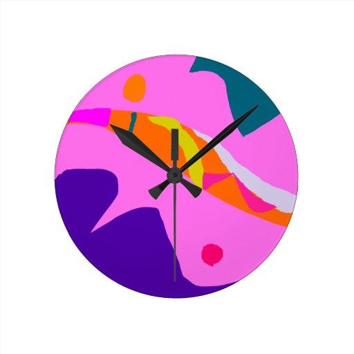 Challenge Artistic True Purpose Ancient Belief Round Clocks